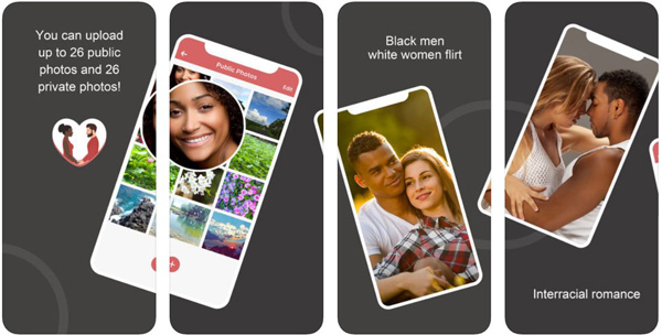 Black White Dating App